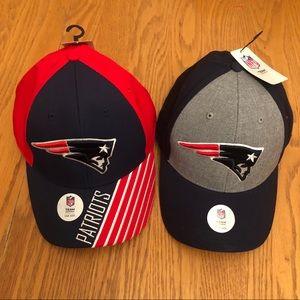 NFL New England Patriots Mens Baseball Hat Lot (2)
